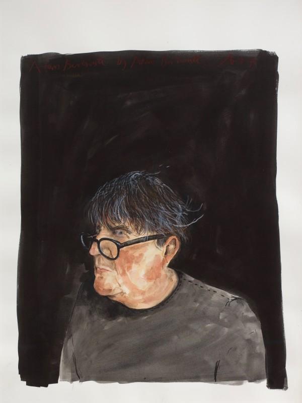 "<span class=""artist""><strong>Adam Birtwistle</strong></span>, <span class=""title""><em>Self-Portrait</em>, 2017</span>"