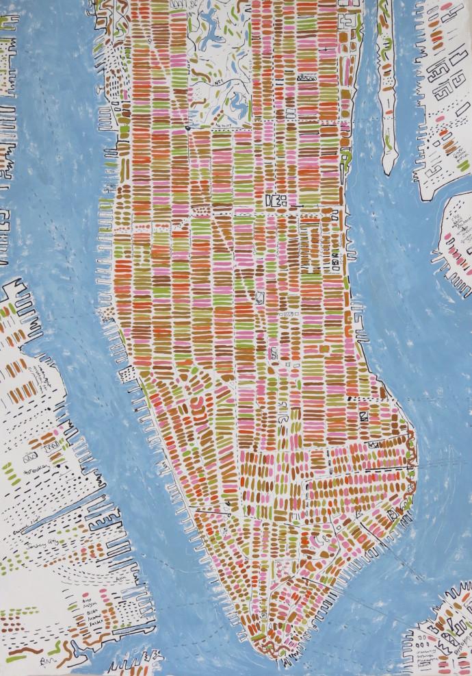 Barbara Macfarlane, Spring Manhattan, 2017