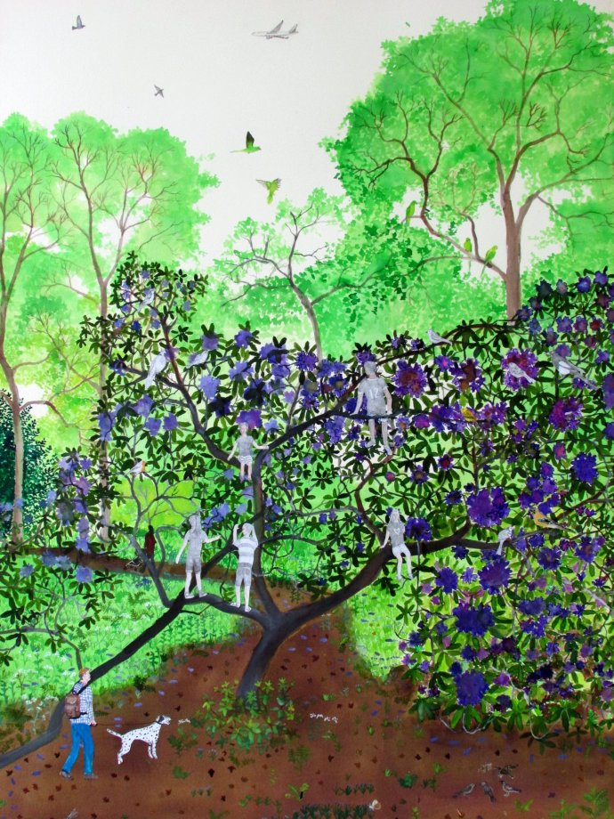 Emma Haworth, Secret Garden III, 2013