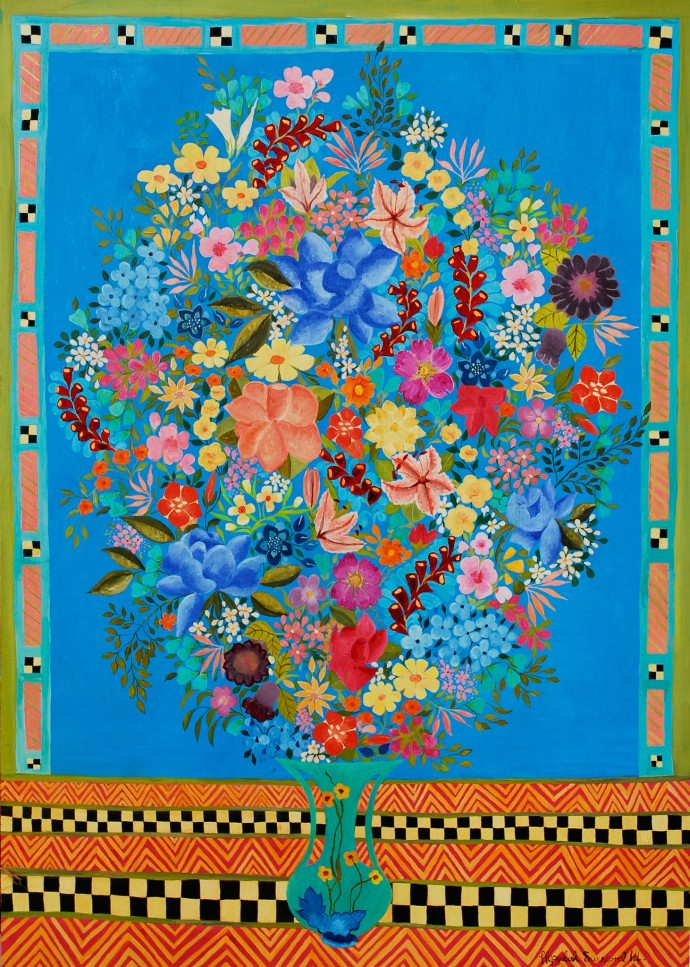Hepzibah Swinford, Blue Roses, 2014