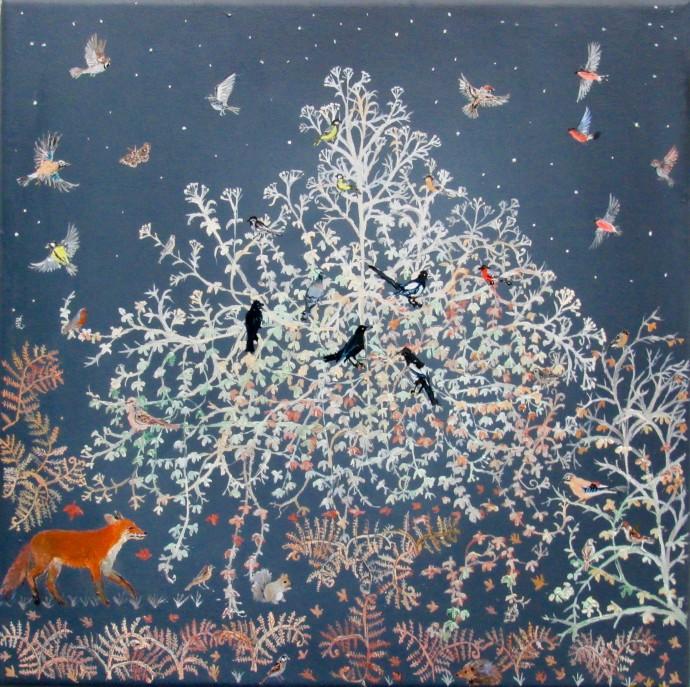 Emma Haworth, Lace Flowers and Stars, 2018