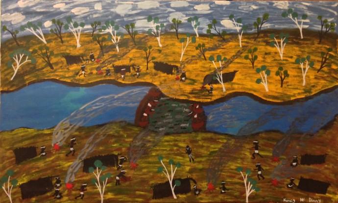 Nancy Mcdinny, Fish traps, 2011
