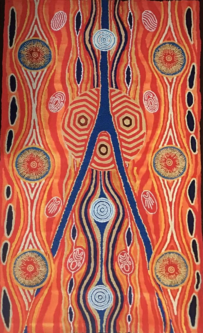 Malcolm Jagamarra, Wiliya-Jaya (the Land River system), 2001