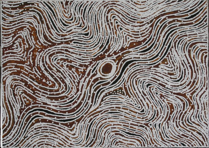 LLoyd Kwilla, KP2451-Bush Fire Series, 2008