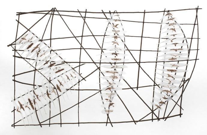 Rebecca Jewell, Navigation Chart, 2016
