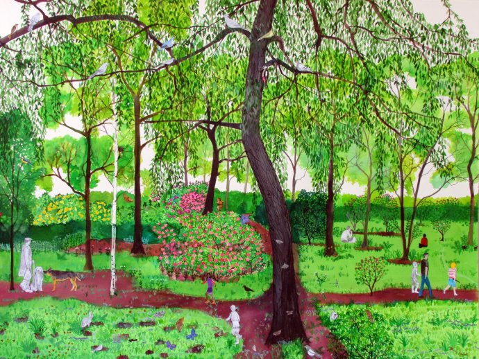 Emma Haworth, Secret Garden II, 2013