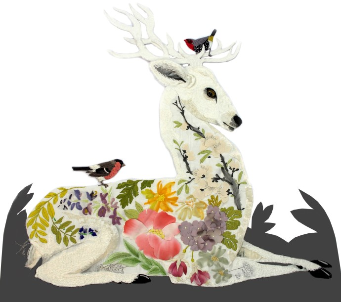 Karen Nicol, White Stag, 2014