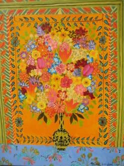 Hepzibah Swinford, Orange Flowers, 2011