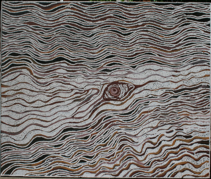 LLoyd Kwilla, KP2553-Bush Fire Series , 2008