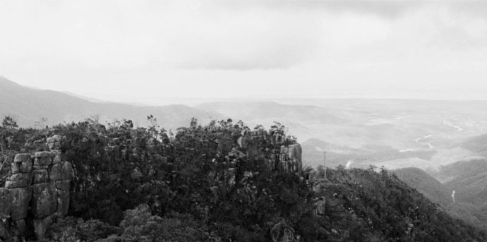 Robin Forster, Terra Incognita #1 (Mount Spec, Paluma Range, overlooking Crystal Creek to the coast, Queensland, Australia), 2006