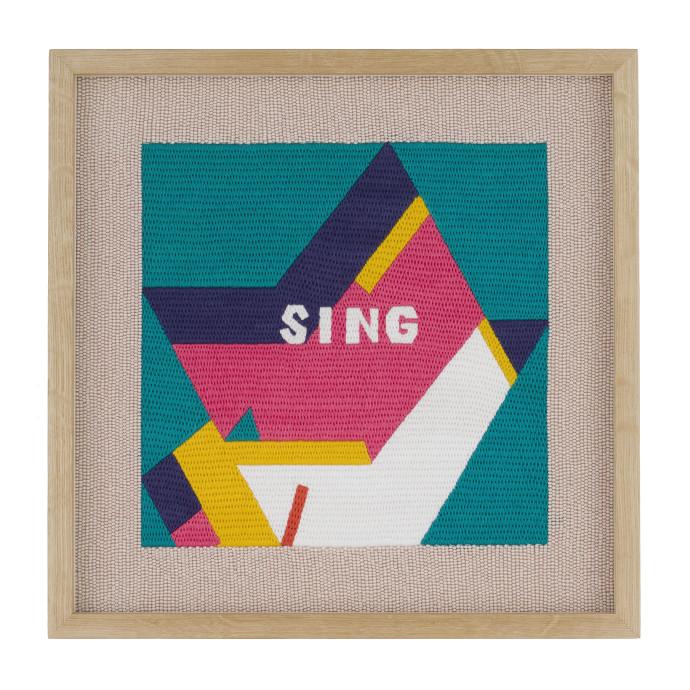 Rose blake, Sing (Listen = Silent), 2018