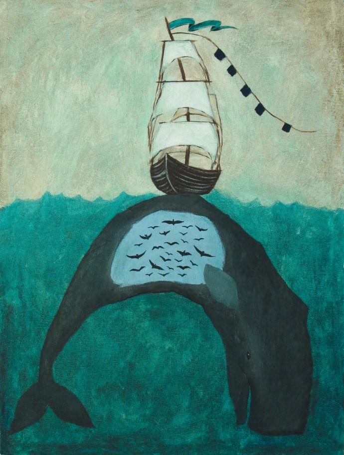 Rebecca Rebouché, You Think You're Sailing, 2014