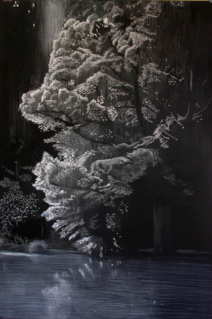 Sheila Clarkson, Falling Light, 2018