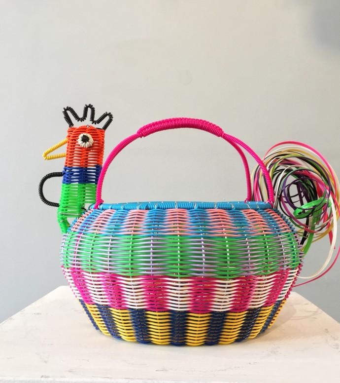Mexican Artisan Collective, Large Chicken Multicolour