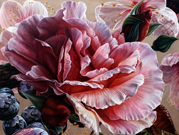 Anne Middleton, Child of morning, rose-fingered dawn., 2015