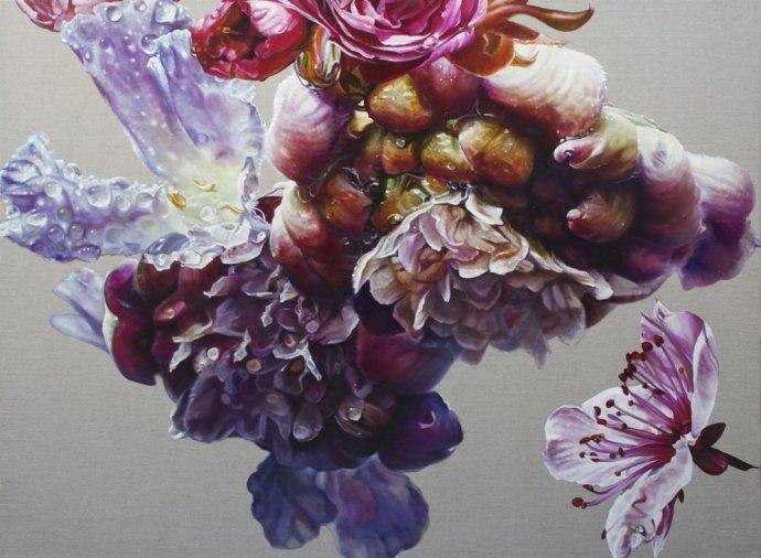 Anne Middleton, Scabiosa columbaria (Pink Mist), 2011