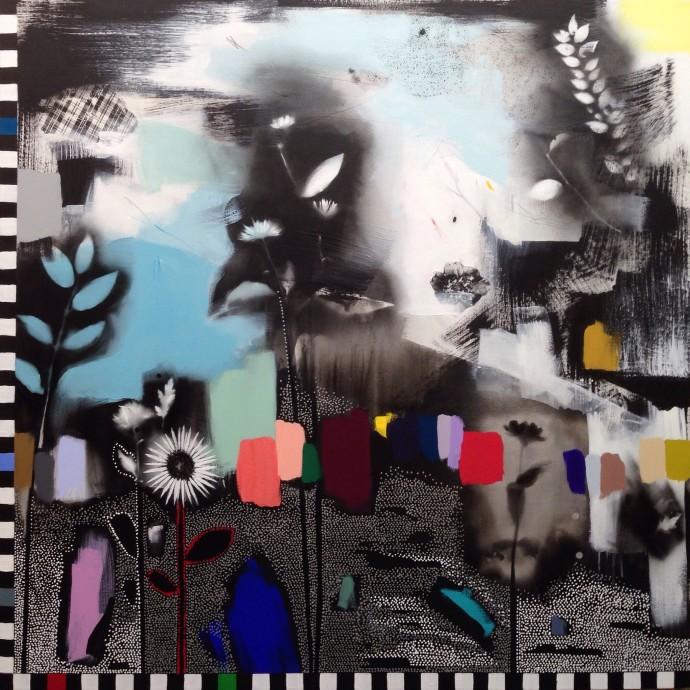 Emily Filler, Dreamscape (wildflowers) II, 2016