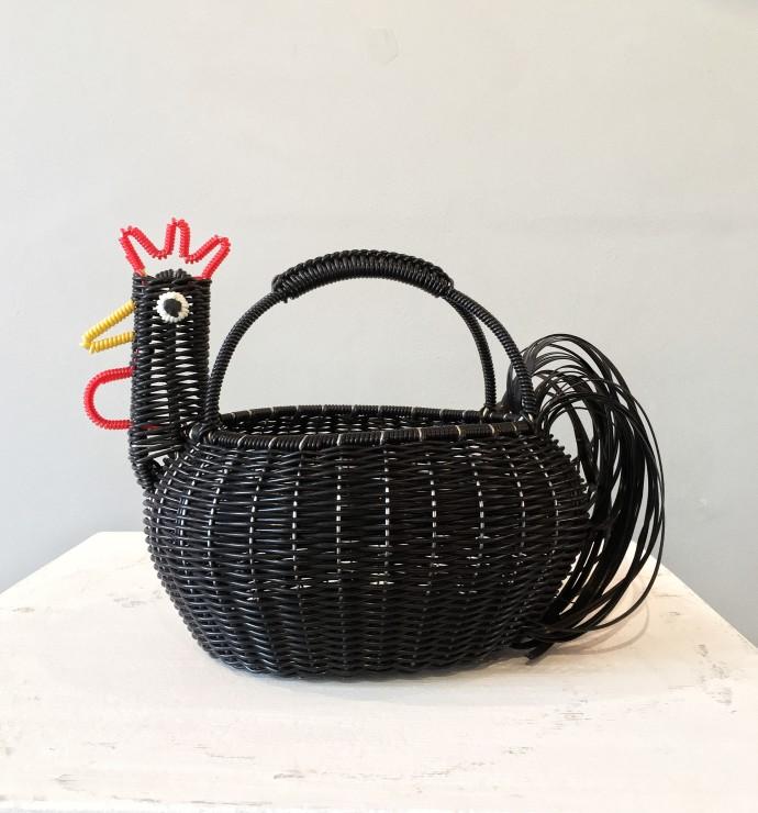 Mexican Artisan Collective, Medium Chicken Black