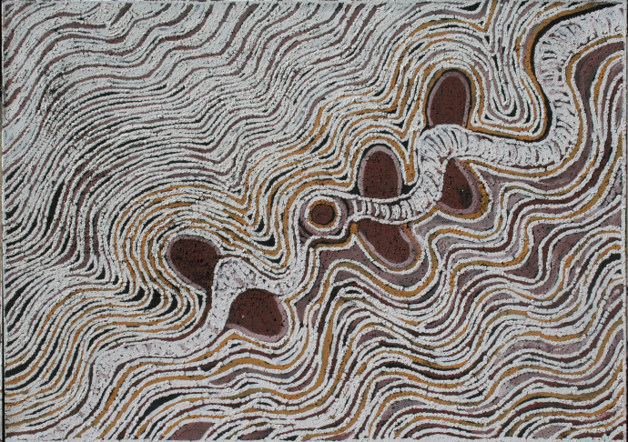 LLoyd Kwilla, KP2256-Bush Fire Series , 2008