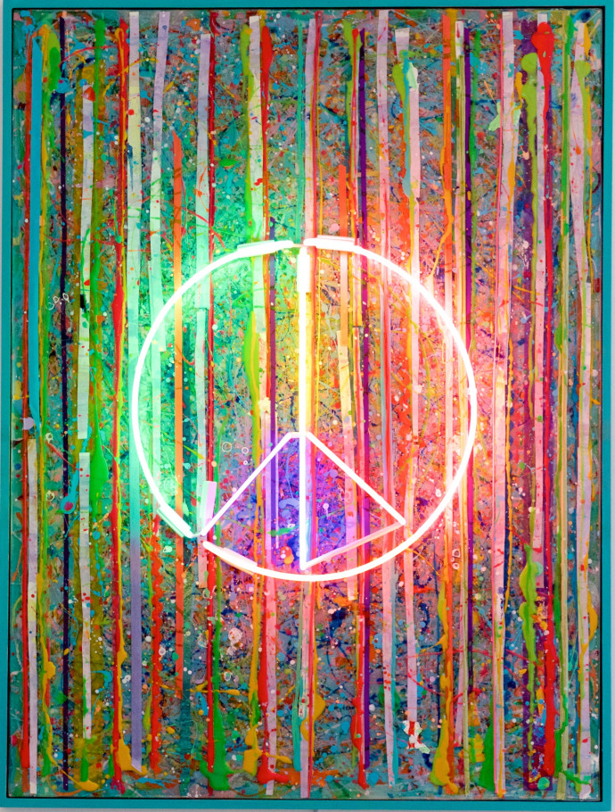 Tracy Lee Griffith, Peace , 2017