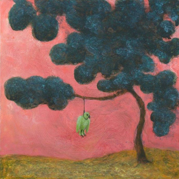 Alasdair Wallace, Sad Parakeet, 2011