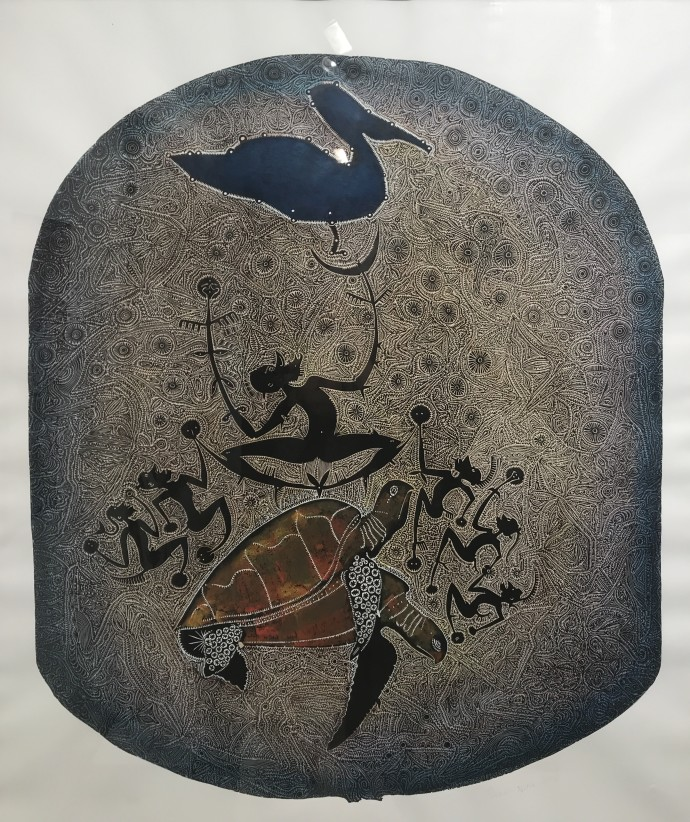 Dennis Nona, Awai tithuyil (badu island story - the pelican), 2006