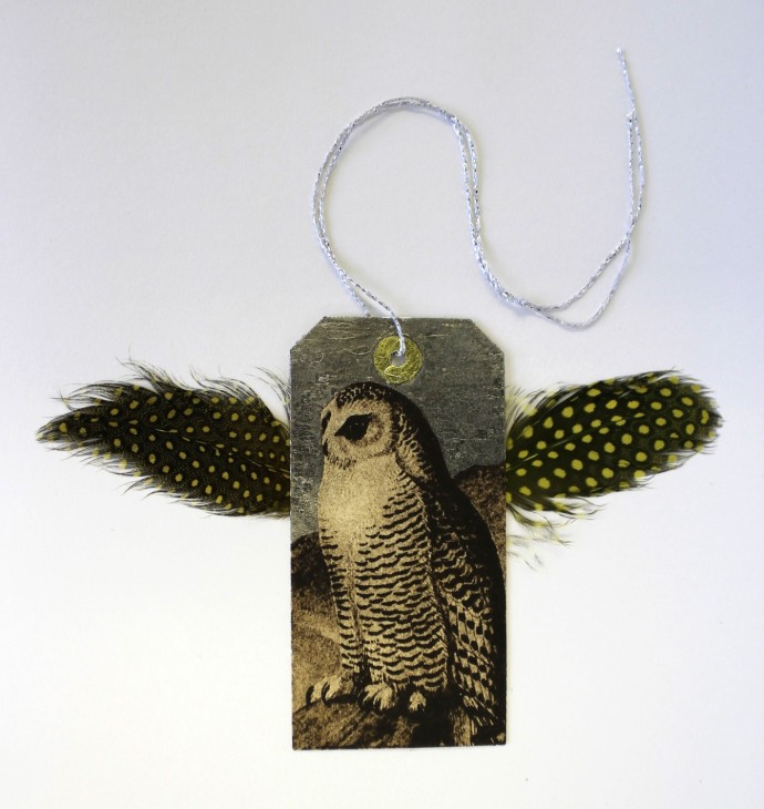 Rebecca Jewell, Snowy Owl Decoration, 2014