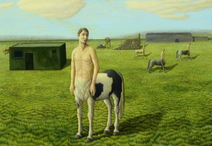 Helen Flockhart, Piebald Centaur, 2014