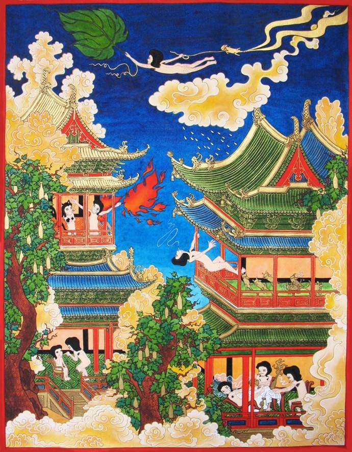 Song-Nyeo Lyoo, Paradise I, 2009