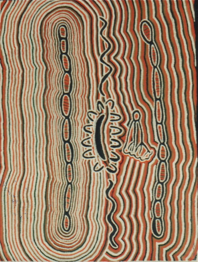 Peggy Napaljarri Rockman, Sick Husband and Wives, 1991