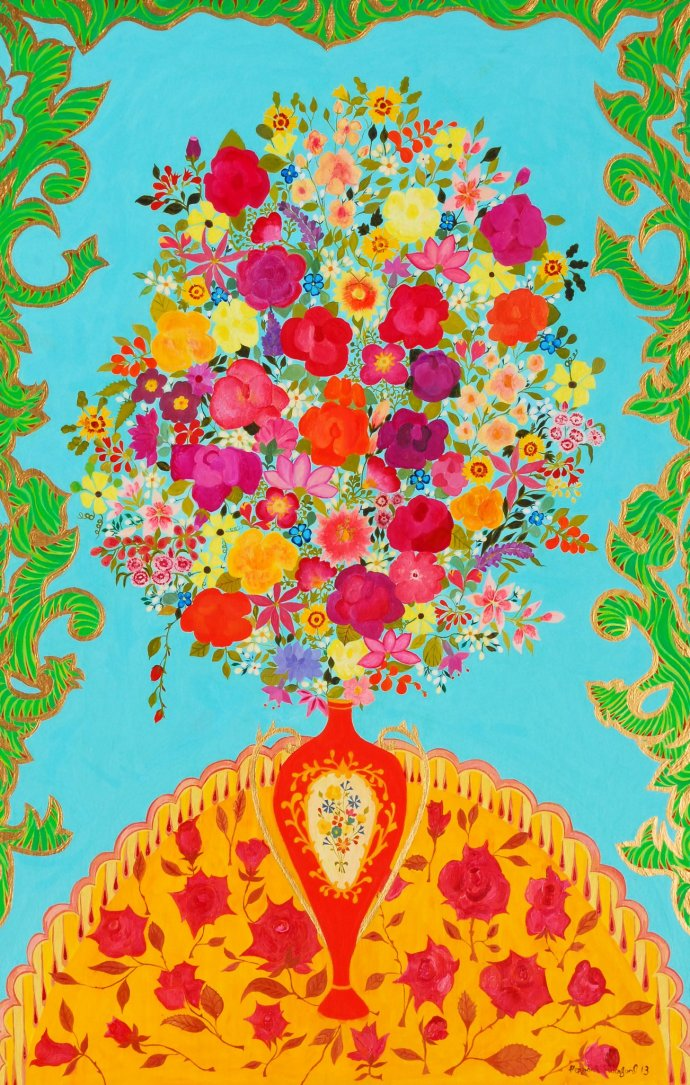 Hepzibah Swinford, Meissen Flowers, 2012