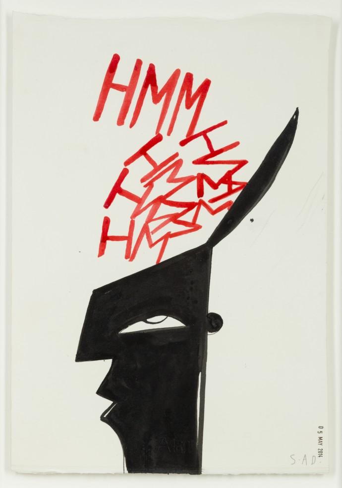 Stephen Anthony Davids, Hmmm ( Drawing ), 2014