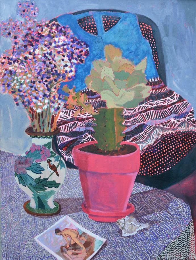 Anna Valdez, Cultivating Domesticity, 2014