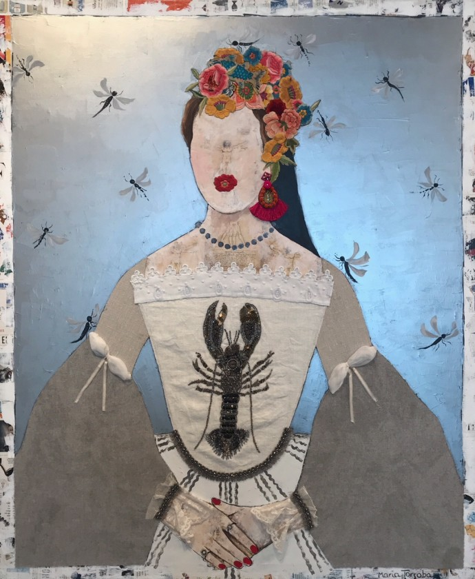 Maria Torroba, Seaside Queen, 2018