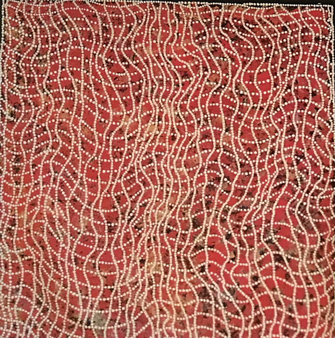 Malcolm Jagamarra, Kalubarr (Man's Dreaming), 2001