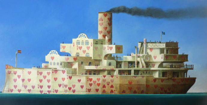 Sylvain Lefebvre, The Love Boat, 2017