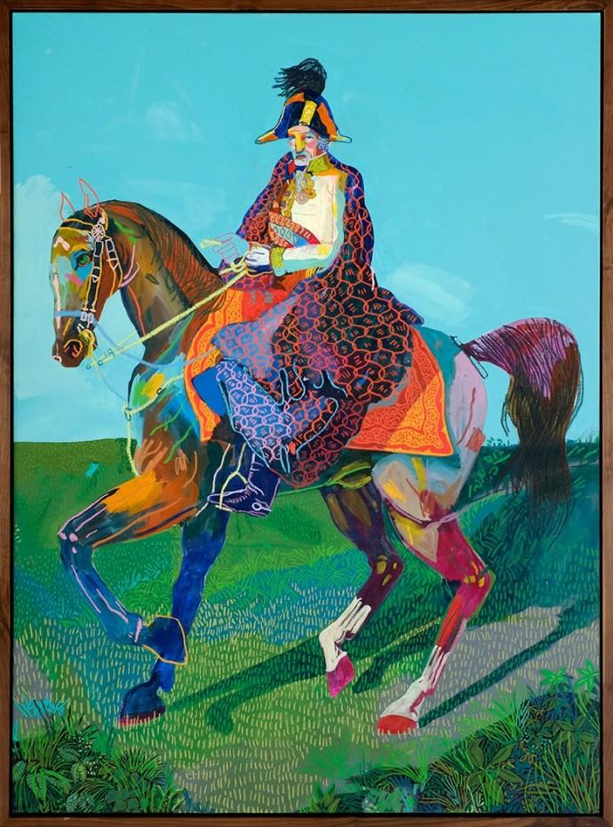 Andy Dixon, Emperor on Horse, 2014
