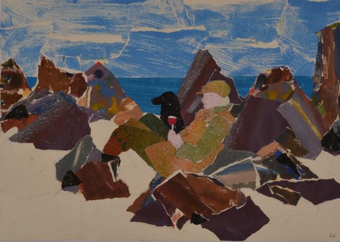 Dione Verulam, Picnic on Iona, 2014
