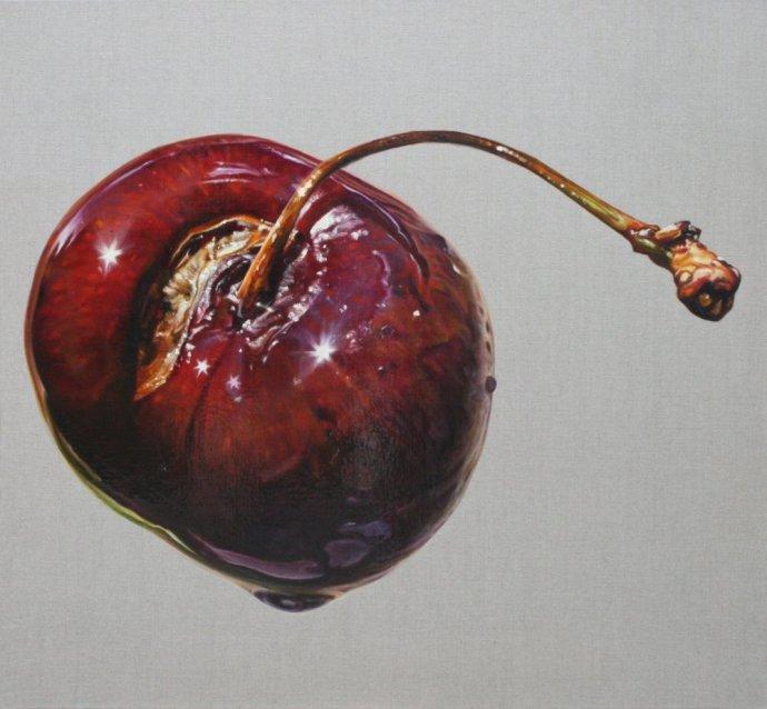 Anne Middleton, Cherry study, 2013