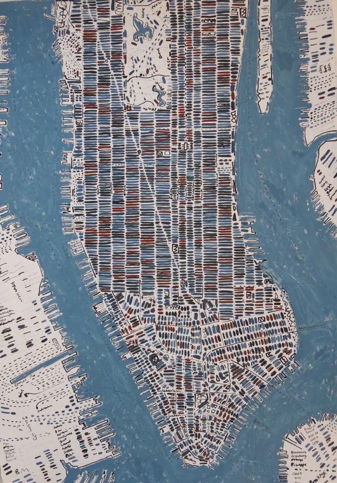 Barbara MacFarlane, Blue Greys Manhattan, 2017