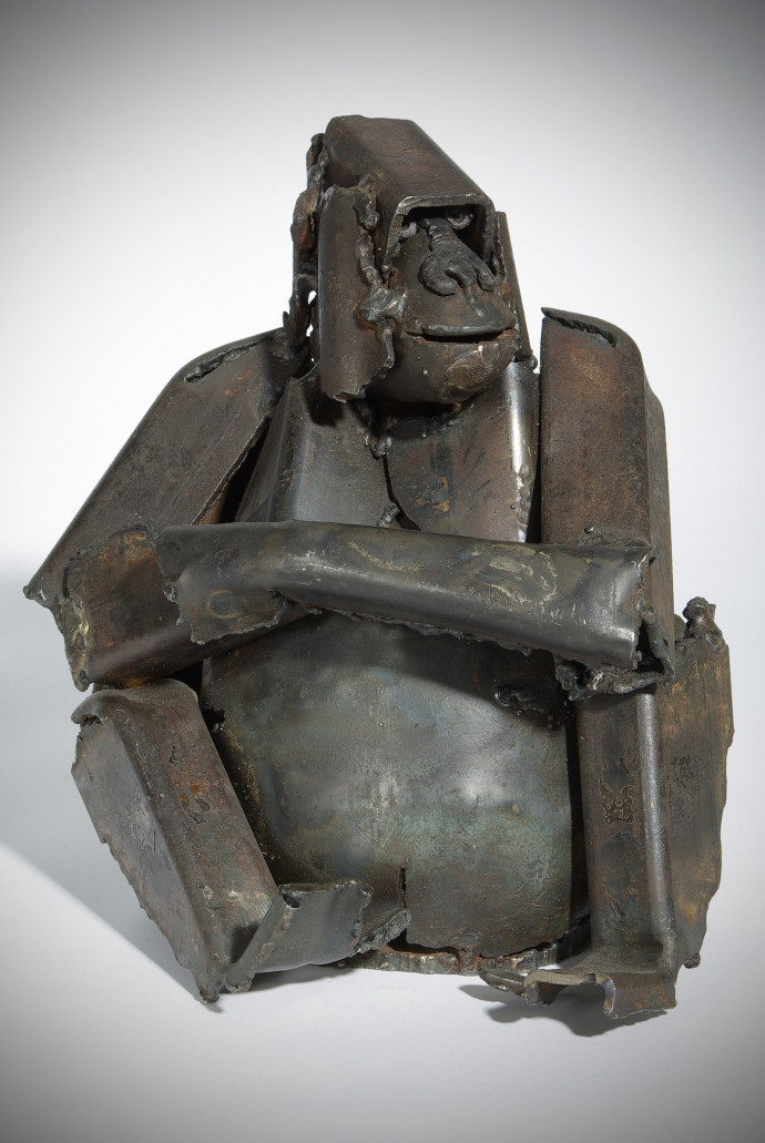 Iain Nutting, Seated Gorilla II, 2011