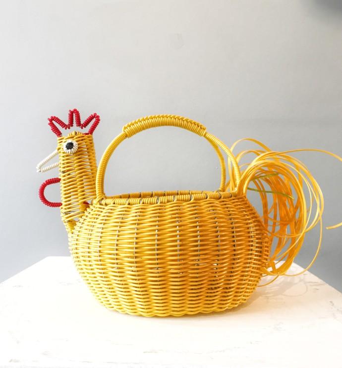 Mexican Artisan Collective, Medium Chicken Yellow