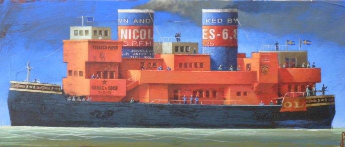 "Sylvain Lefebvre, The ""Red Nicole"", 2013"