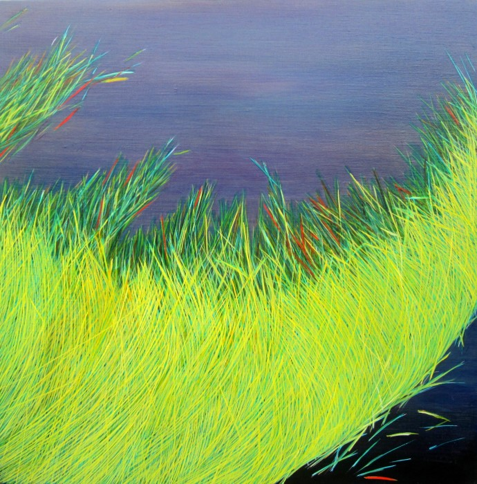 Yvonne Mills-Stanley, Grass Travels II, 2014