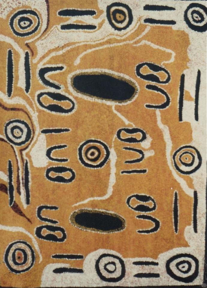 Lorna Napurrula Fencer, Seed (Ngurlu) Dreaming , 1991