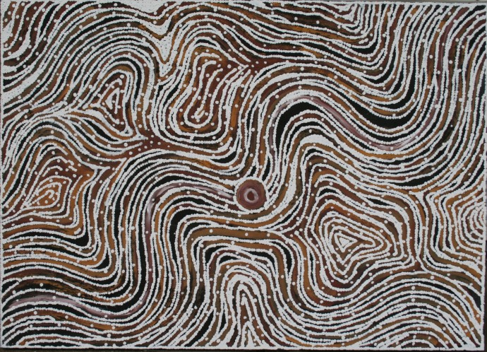 LLoyd Kwilla, KP2462-Bush Fire Series , 2008