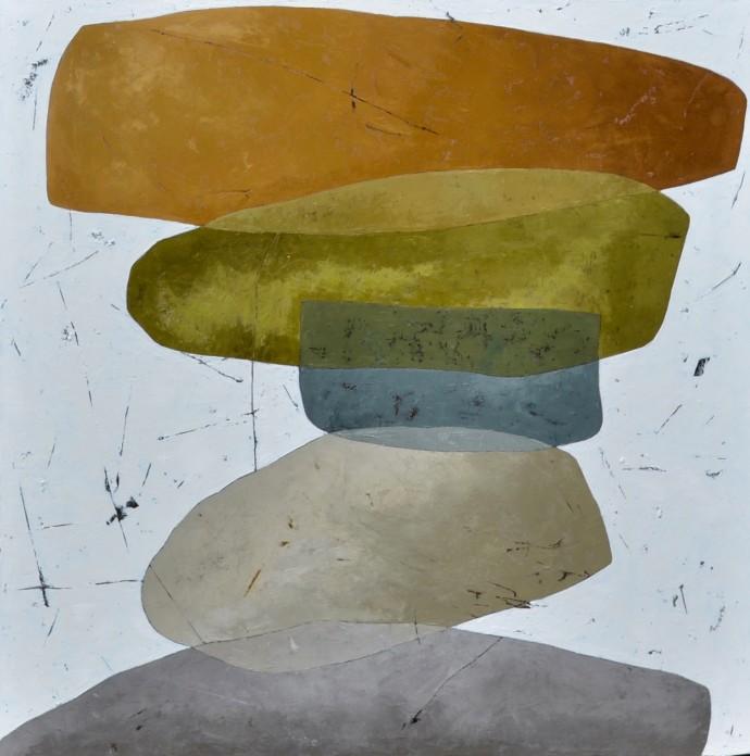 Richard Nott, Stones, 2018
