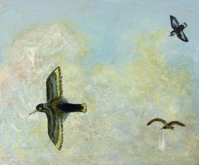 Alasdair Wallace, Fragment of the Great Flock, 2008