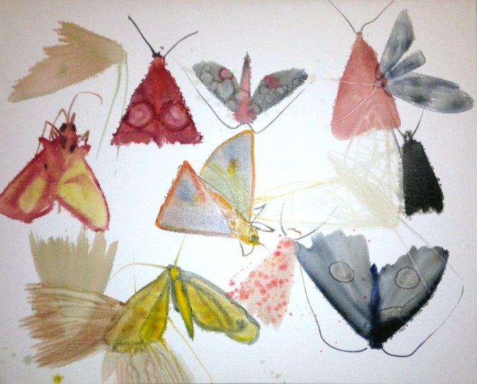 Allyson Reynolds, Untitled III (Moths), 2010