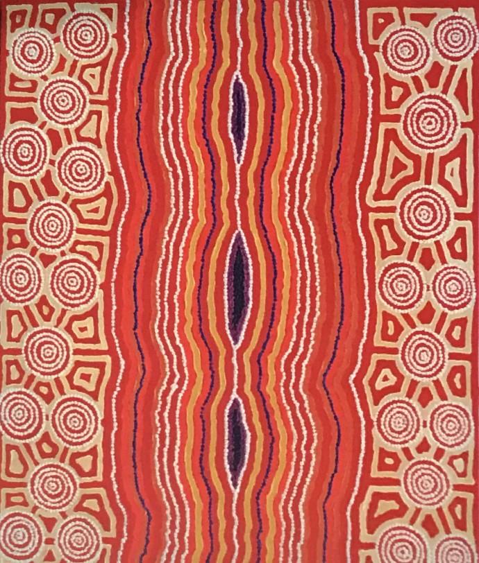 Malcolm Jagamarra, Inapaku (Lake Surprise), 2001
